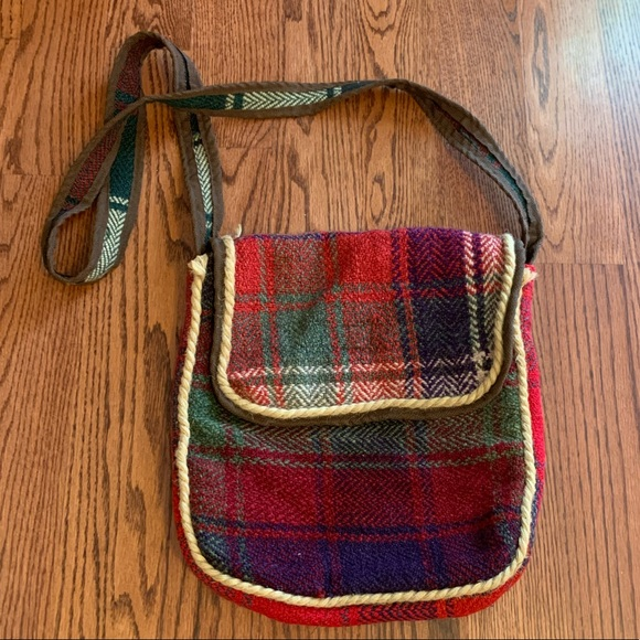 Hand-Woven Rug Bag From Iran
